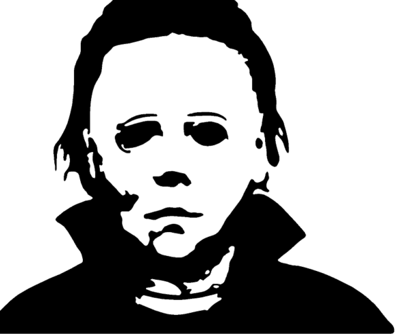 Mike Myers Halloween Window Wall Sticker Any Size Any