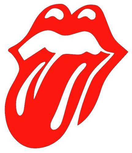 Rolling Stones Logo Lips Vinyl Decal Decor Sticker Any